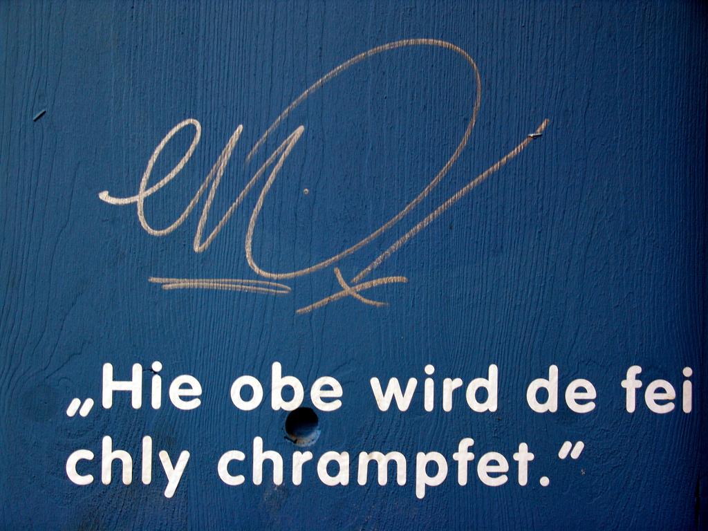 Übersetzung Deutsch Schweizerdeutsch